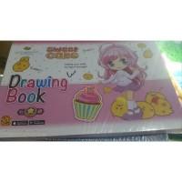 Buku Gambar A4 Kiky 4D Magic Drawing Book Animation 4D Grosir Murah