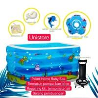 Intime Baby Spa Intime Baby bath tub bak mandi bayi Intime 4 ring pool