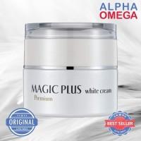 MAGIC PLUS WHITE CREAM BELI 2 pcs 35g GRATIS 10 SACHET PEMUTIH WAJAH