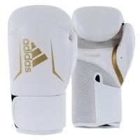Sarung Tinju Adidas Speed 100 Boxing Glove NEW -White Gold- ADISBG100