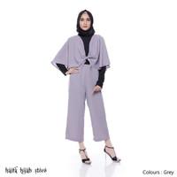 Dress Muslim / Dress Woolpeach / Jumpsuit Muslim / Cape formal Dewasa