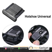 Hot Shoe Cover Tutup Flash Canon Nikon Sony Fujifilm Hotshoe Universal