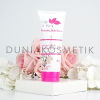 Fair n Pink Whitening Body Serum 160ML - Original 100% - BPOM Asli