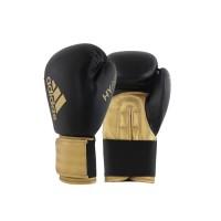 Sarung Tinju Adidas Hybird 100 Boxing Glove Black Gold ADIH100