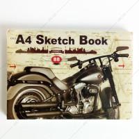 Buku Gambar Sketsa Kiky A4 50 Lembar