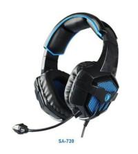 headset gaming sades bpower 739/b power SA-739