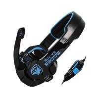 Sades SA-708 Headset Gaming Stereo G Power - Hitam