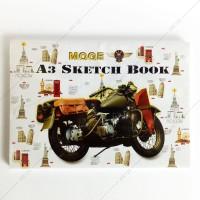 Buku Gambar Sketsa Kiky A3 50 Lembar