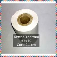 HOT - K5 KERTAS THERMAL 57 X 40 UNTUK - PRINTER 58 STRUK KASIR