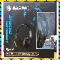 DISKON - SADES SA-708 GAMING HEADSET GPOWER