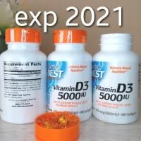 Termurah Doctors Best Doctor Best Vitamin D3 D 3 125Mcg 5000 Iu,180