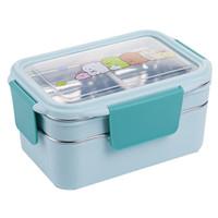 Kotak makan ANAK Lunch Box Tempat makan 2 tingkat 304 STAINLESS