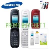 (PROMO Buy 1 Get 1) Handphone Samsung Lipat Caramel GT-1272 Dual Sim