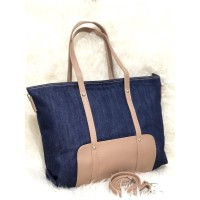Top Handle / Hand bag -- READY TAS TOTE ZARA BASIC ORIGINAL JEANS