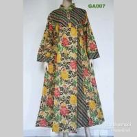 gamis batik BGMR / fashion muslim