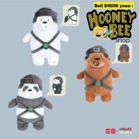 Miniso - Boneka We Bare Bears with hat plush toy ORIGINAL DIJAMIN