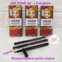 Spidol Bioaqua Silky Cool Black Eyeliner waterproof original
