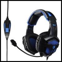 Promo Sades Bpower Sa739 / Sa 739 Gaming Headset With Kabel Y Original