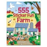 Sticker Fun Farm Stiker Book Buku aktivitas anak animal kado unik