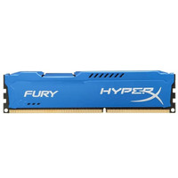RAM KINGSTON HYPER FURY GAMING DDR3 4GB PC 12800 1600Mhz LONGDIMM
