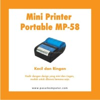 Mini Printer Portable MP-58