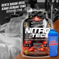 Muscletech MT Nitrotech 4lbs FREE SHAKER WHEY PROTEIN+AMINO+BCAA