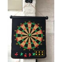 DART GAME MAGNET / MAGNETIC DART GAME / PAPAN DART 17inch
