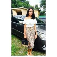 Rok Lilit arisa Maxi Panjang Jumbo Kain Batik Wanita