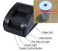 Thermal Printer Taffware POS Receipt 57.5mm - ZJ-5890K Zjiang