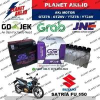 Aki Motor Suzuki Satria FU 150 GTZ7S GS Y Accu Kering MF