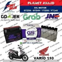 Aki Motor Honda Vario 110 GTZ5S GS Y Accu Kering MF