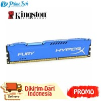 PROMO GAMING RAM DDR3 8GB PC 12800 KINGSTON HYPER X FURY LONGDIMM Memo