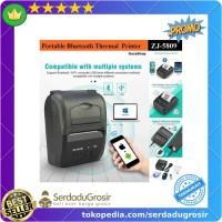 Promo Zjiang Mini Portable Bluetooth Thermal Receipt Printer - 5809