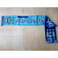 Syal Rajut Bola Scarf bola Klub Manchester City