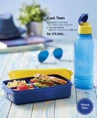 [Kualitas Top] Tupperware Cool Teen Set Bekal Tempat Makan Minum