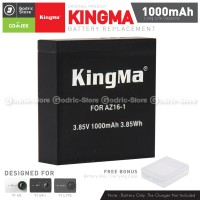 KingMa Baterai Replacement Spare Battery for Xiaomi Yi 4K 4K PLUS LITE