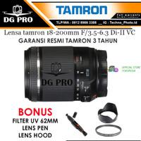 Lensa Tamron 18-200mm f/3.5-6.3 Di II VC For Kamera DSLR Canon & Nikon