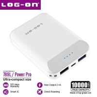 FLASH SALE (Buy 1 Get 1 Kabel 3in 1 Free) Log On Powerbank 10000Mah Po