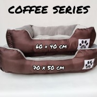 Tempat tidur anjing pet bed bantal kasur ranjang anjing kucing 70x50cm
