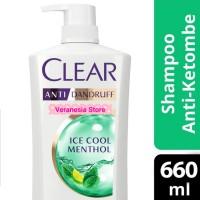 Shampoo Clear Ice Cool Menthol - 680ml