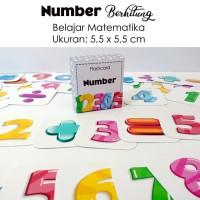 Flashcard numbers / belajar matematika / kartu pintar