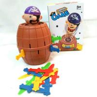 Jumping Pirate Game Pirate Stab Roulette Runing Man - Mainan Anak