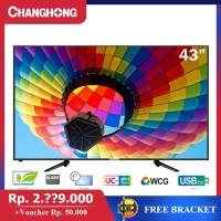 43 Inch LED TV changhong 43G3A FHD TV-HDMI-USB Moive-L43G3A