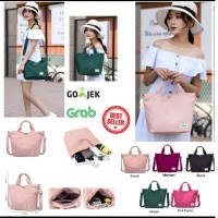 Korea Versatile Nylon Shoulder Bag / Tas Selempang Wanita