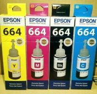 TINTA EPSON 664 series L310 L350 L355 L360 L365 L380 L385 L405 L485