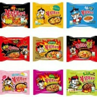 Samyang Original Cheese Stew Curry Nuclear Cool Carbo Mala