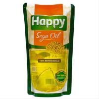 Happy Soya Oil Minyak Kedelai Refill 1 liter