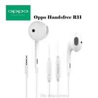 handsfree / headset / earphone OPPO R11 ORIGINAL 99 good Quality