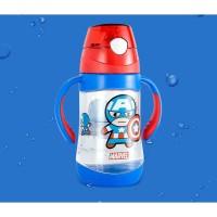 [LOGU] Botol minum superhero anak, Botol minum tritan frozen