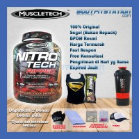 MuscleTech Nitro Tech Ripped 4 Lbs / fatburn isolate lb nitrotech whey